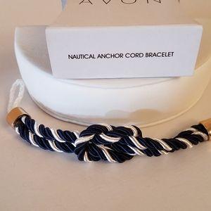 Avon Nautica Anchor Cord Bracelet